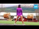 REAL NINJA GIRL - Fanny Josefine | Muscle Madness