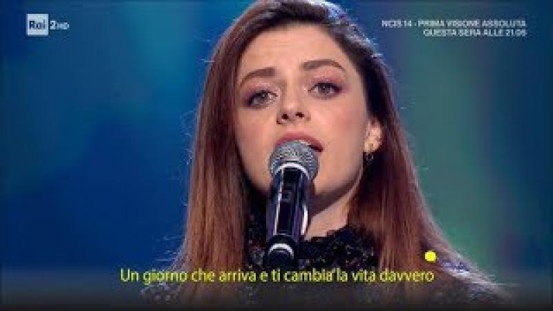 Annalisa canta Direzione la vita - Quelli che il calcio 05/11/2017