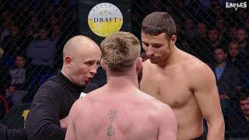 EAGLES VII Title fight. S.Barbarosa vs Luca Poclit. -77kg