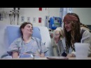 "Johnny Depp as ""Captain Jack Sparrow"" sails into Vancouver to visit patients at BCCH FULL VIDEO"