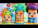 Пластилин Плей До набор Сумасшедшие прически Мультик с игрушками play doh