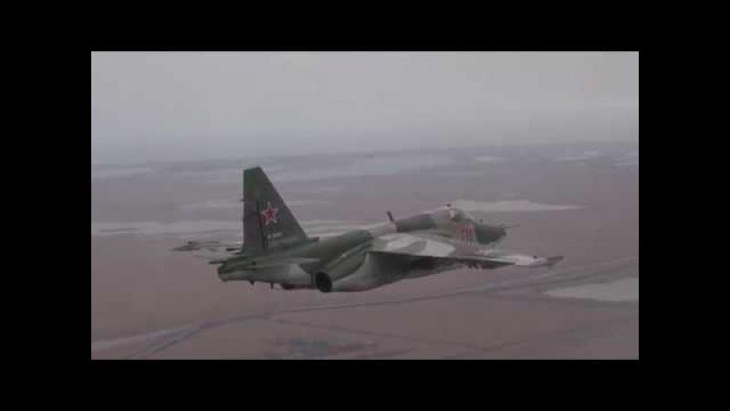 Тактическая подготовка летчиков штурмового авиаполка ЮВО