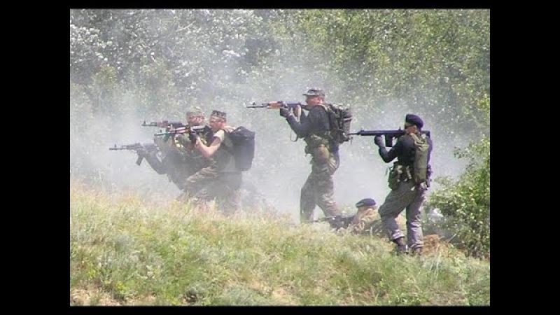 МОЩНЫЙ БОЕВИК. СТРЕЛЯЮЩИЕ ГОРЫ . Русские боевики, фильмы про войну 2017. [K1874672]