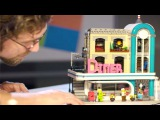Downtown Diner Designer Video | LEGO Creator Expert | 10260