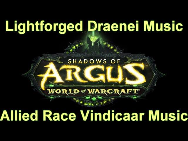 Lightforged Draenei Vindicaar (Music Allied Race Music) - Legion Music