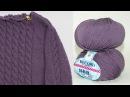 Вязание спицами СП Зимнее платье Отчет 2