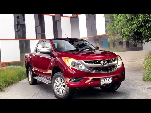 Mazda BT 50 Double Cab AU spec '2011–15