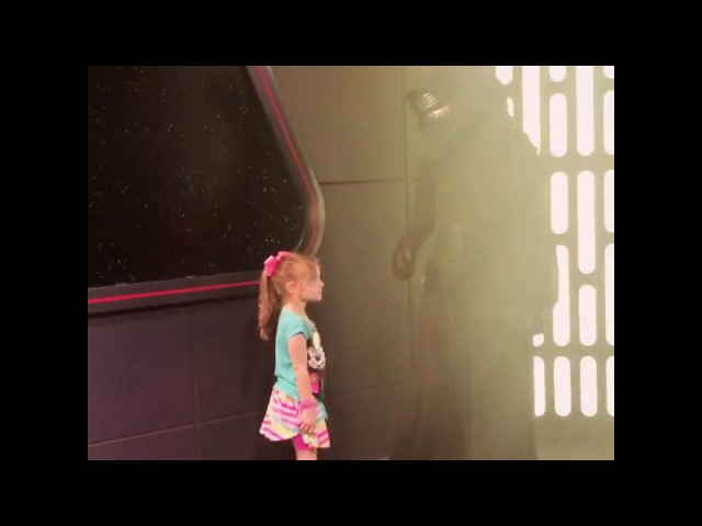 Kylo Ren : Calls my sweet 4 year old to the Dark side - Star Wars