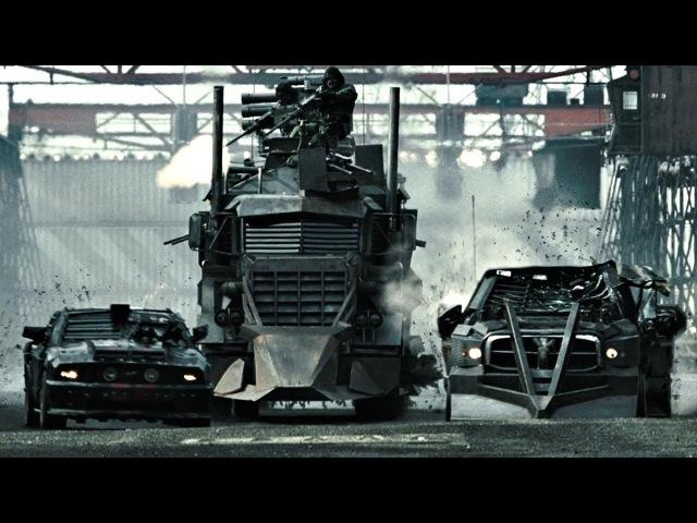 Начальница тюрьмы выпускает на гонку огромный грузовик Дредноут Смертельная гонка 2008