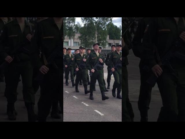 вч 71717 присяга 15.07.2017 Сертолово-2
