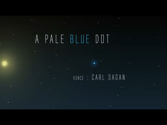 A Pale Blue Dot - Animated Version