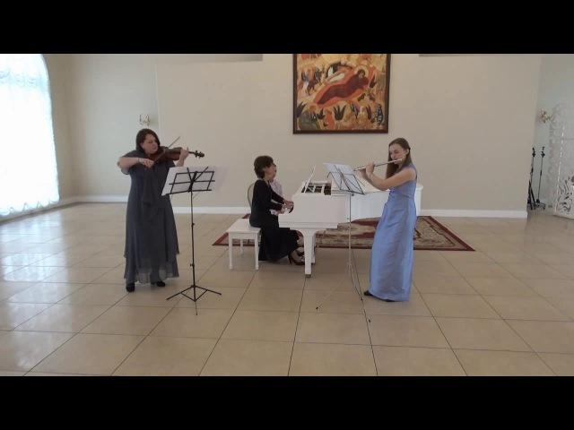 Г.Гендель (1685-1759). Соната II для скрипки, флейты и Continuo ор 2, Nr 2 Соль минор