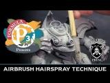 Formula P3 Presents Airbrush Hairspray Technique