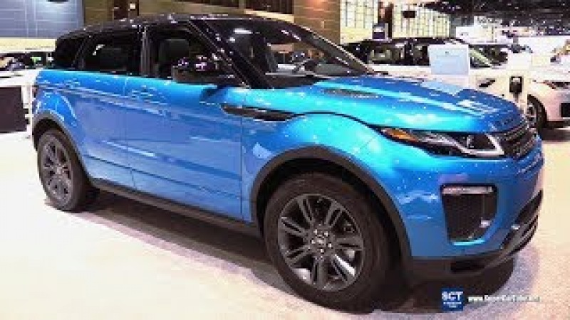 2018 Range Rover Evoque Landmark Edition - Exterior Interior Walkaround - 2018 Chicago Auto Show