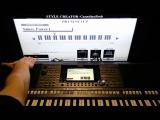 Синтезатор Yamaha PSR-S970S770 Белые Розы Ласковый Май