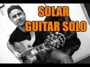 Solar Miles Davis Jazz Standard (Solo Guitar)