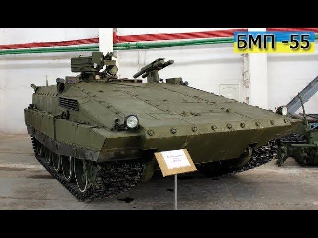 Тестирование БМП-55 AFV-55 test