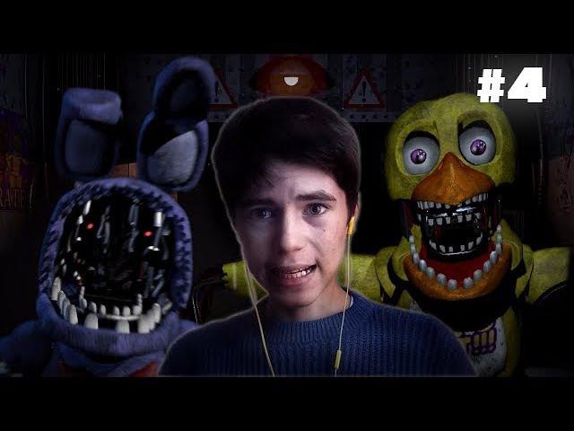 Five Nights at Freddy's 2 : АНИМАТРОНИКИ НЕ ДАЮТ ПРОХОДА! 4 1080p60