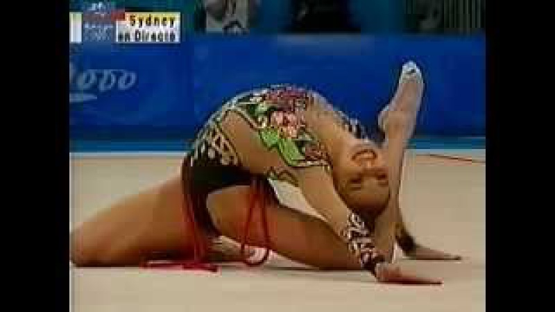 Alina Kabaeva -cuerda- FINAL ALL-ROUND ( Sydney 2000)