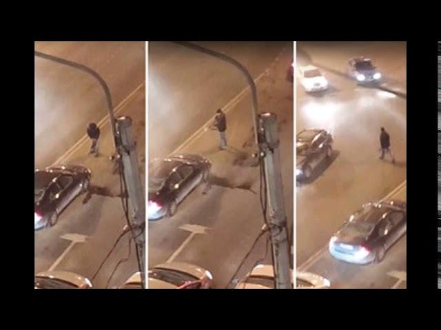 Пьяный житель Санкт-Петербурга открыл огонь после рядового ДТП