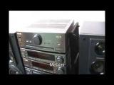 tape deck pioneer CT-P710 MR do conjunto modular Selfie S-50