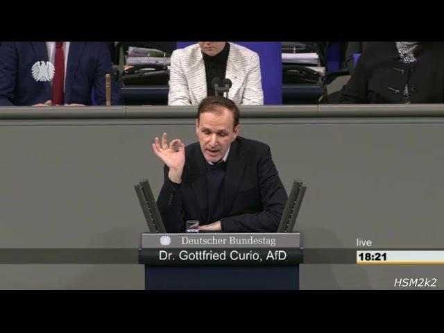 ► AfD - Dr. Gottfried Curio hält im Bundestag eine glänzende Rede zum Fall Deniz Yücel