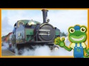 Steam Trains For Children   Gecko's Real Vehicles