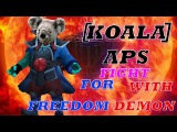 KOALAAPS storm spirit fight for freedom, but summon demonuga and fight with him