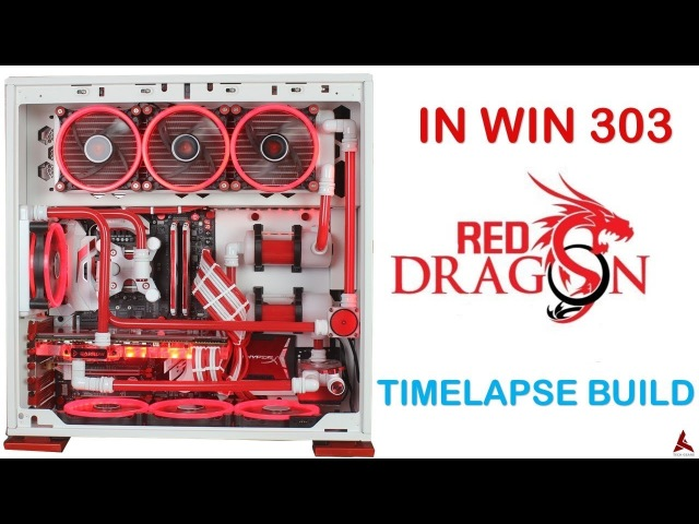 In win 303 Msi Dragon Edition Project REDRAGON (Timelapse build)