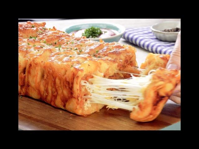 Слоеный Хлеб С Сыром И Курочкой: Очень Необычный И Вкусный Рецепт