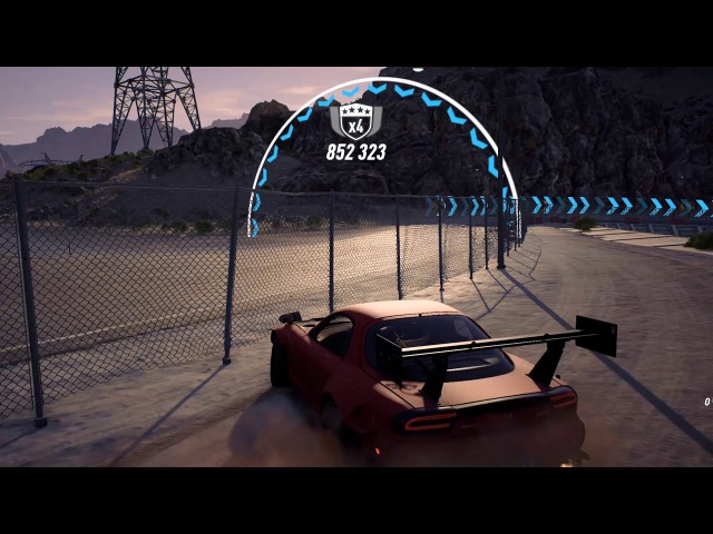 Need for Speed Payback Down by the river Mazda rx7 2 800 000