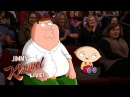 Jimmy Kimmel Talks to Peter Stewie Griffin from Family Guy