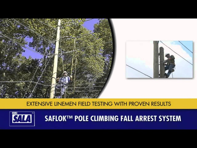 Utility Pole Climbing Products from DBI-SALA (USA)