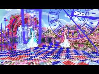 MMD Tda Pretty Miku 鎖の少女 [Alice] Rose Garden