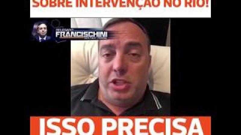 DELEGADO DA PF ESCULACHA TEMER E MANDA A REAL SOBRE A INTERVENÇÃO NO RJ COMO PROPAGANDA ELEITORAL