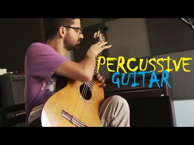 Percussive Guitar Tolgahan Çoğulu The Perc u Lator Eric Roche