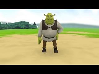 [MMD] Shrek Madnesse (Original motion)