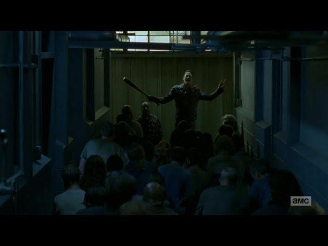 The Walking Dead 8x05 Negan Returns To The Saviors Ходячие мертвецв Ниган 8 5