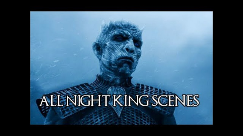 All Night King Scenes (S04-S07) - Game of Thrones