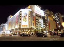 Tokyo Ginza Night1 NO BGM 銀座の夜の風景 BGMなし