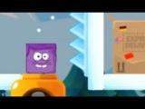 Фиолетовый Квадрат .Ледяная Фиолетовая Голова #3