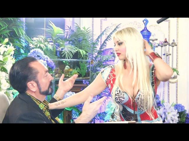 Gülşahın Adnan Oktar ile yakın temas dansı