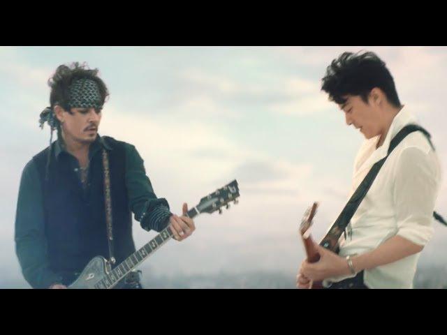 夢の共演 ジョニーデップ Johnny Depp 福山雅治 すばらしきギターセッション