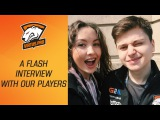 Virtus.pro at The Kiev Major A flash interview with our players  Dota 2