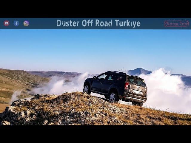 Off Road   2463m Zorlu Tırmanış - Duster Performansı