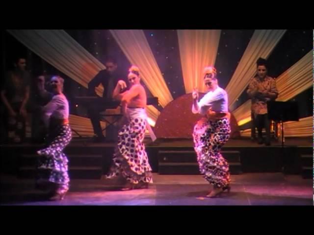 Flamenco Tangos de Malaga. Azabache en Fuengirola 2012