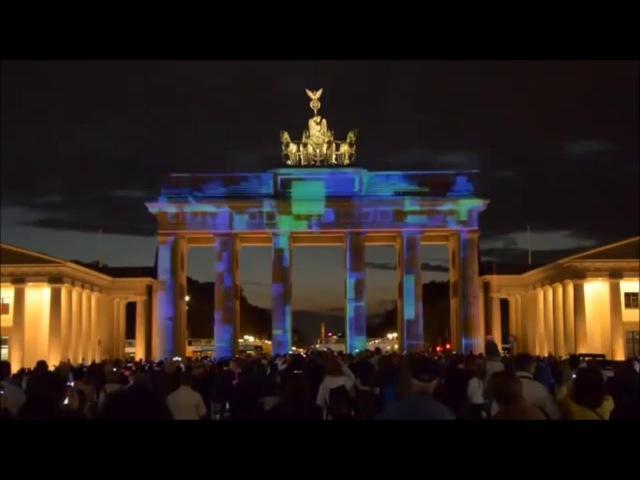 Берлин, Berlin, Das Brandenburger Tor, Бранденбургские ворота, аудиогид, на немецком языке1