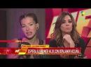 La China Suárez contó que Benjamín Vicuña le propuso casamiento de rodillas