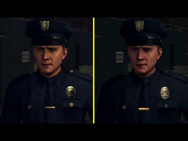 L. A. Noire PS3 vs PS4 Pro Graphics Comparison