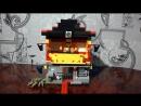 Лего ниндзяго сыны Гармадона . Самоделка храм воскресения .